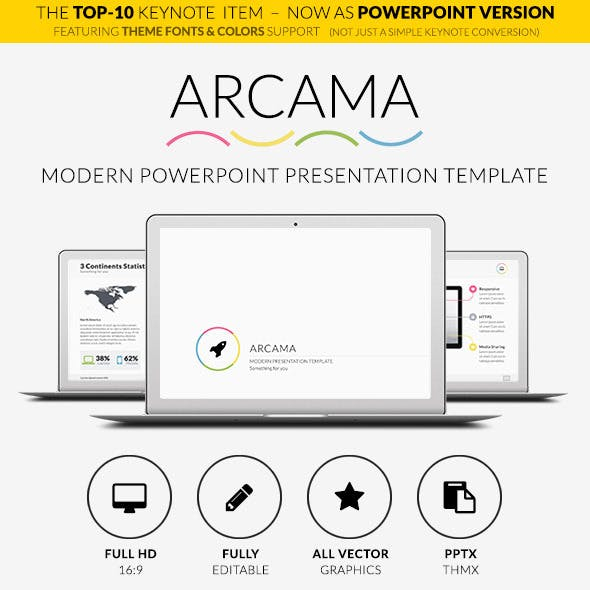 Arcama - Powerpoint Presentation Template