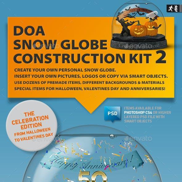 Snow Globe Construction Kit 02