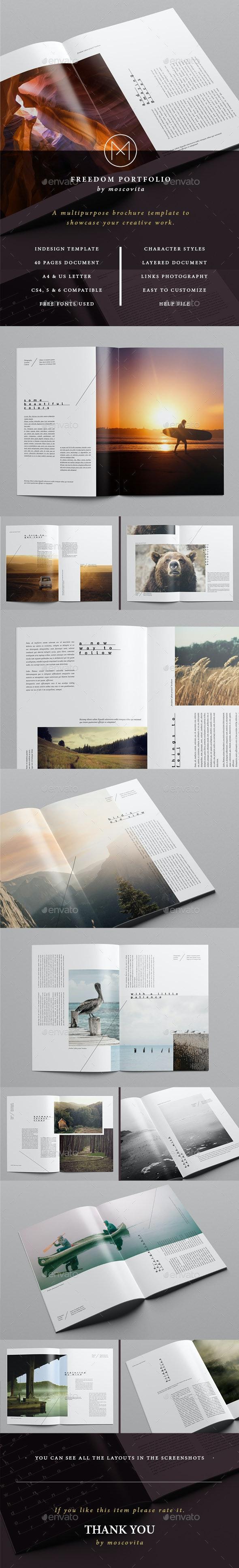 Freedom Portfolio - Portfolio Brochures