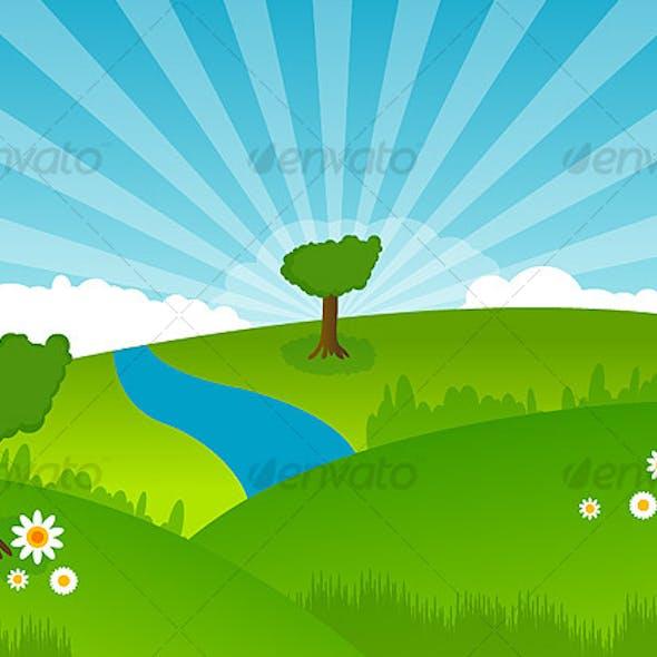 Green Land LANDSCAPE - trees