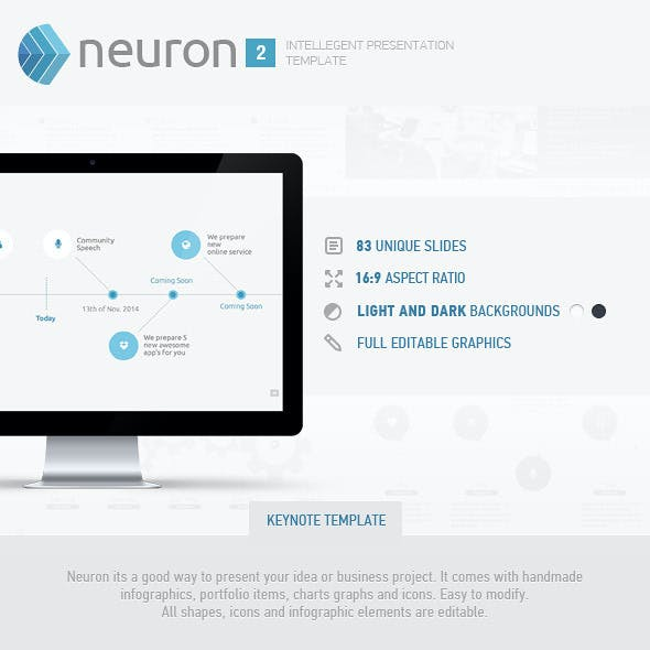 Neuron (Volume 2) Keynote Presentation Template