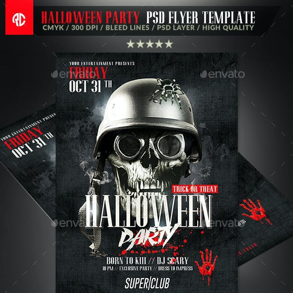 Classy Halloween Party | Flyer Template