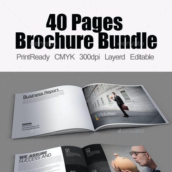 Multi use Minimal Brochure Bundle
