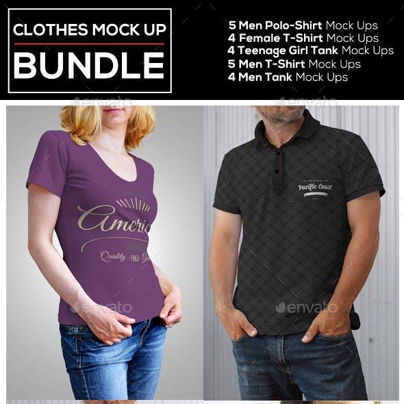 Clothes Mock Up Bundle