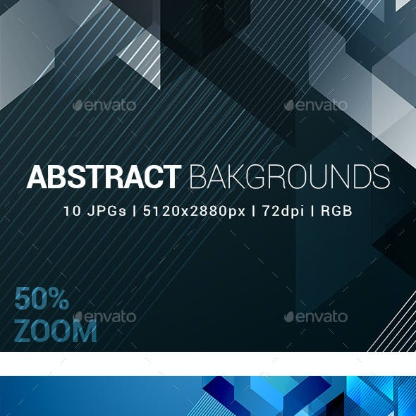 10 Abstract Backgrounds Vol 2