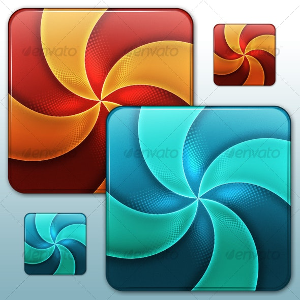 Swirly Whirly Icon - Abstract Icons