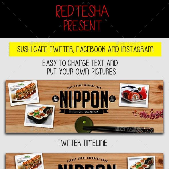 Sushi Cafe Timeline and Instagram