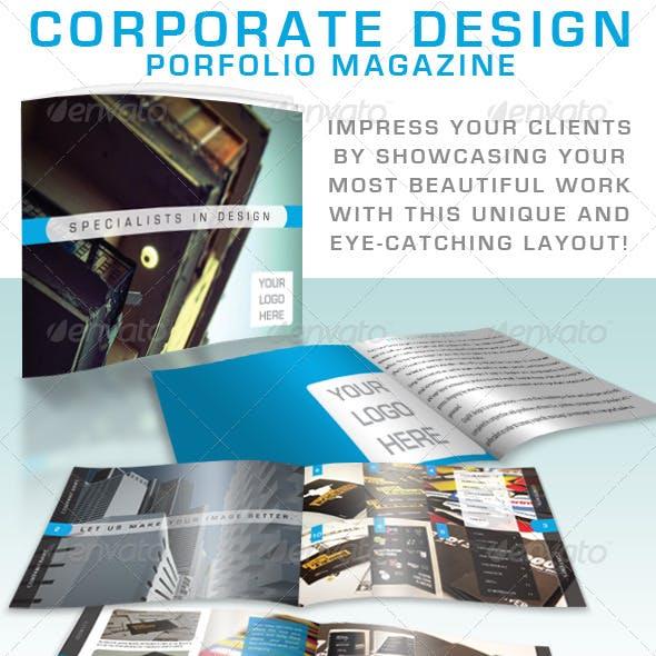 Corporate Design Portfolio Magazine
