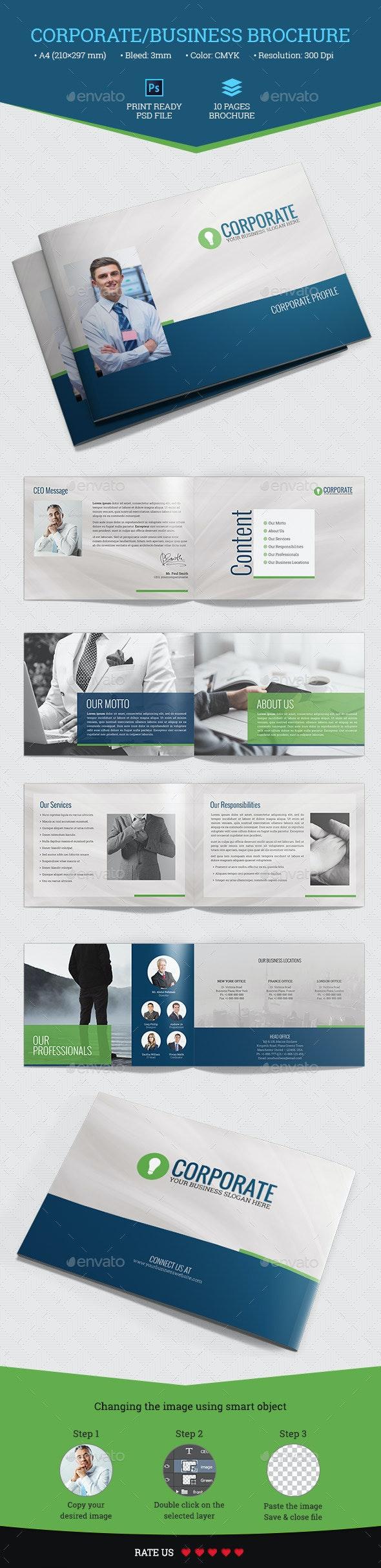 Corporate/Business Brochure - Corporate Brochures