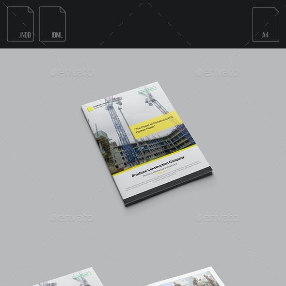 Brochure Construction Company
