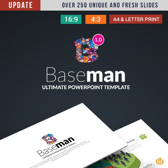 Baseman- Ultimate PowerPoint Template