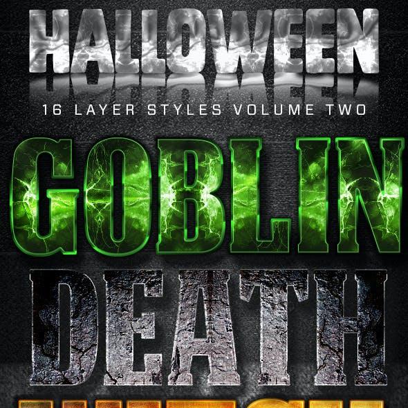 16 Halloween Styles Volume Two