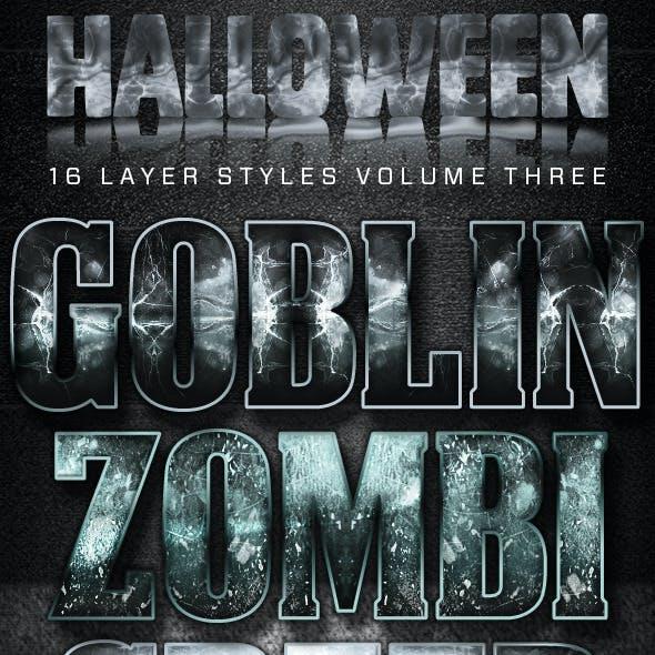 16 Halloween Styles Volume Three