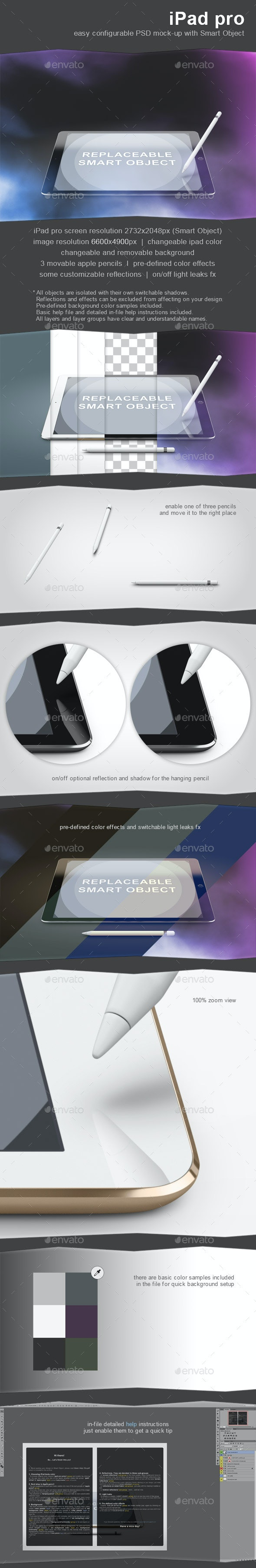 iPad Pro Mock-Up - Mobile Displays