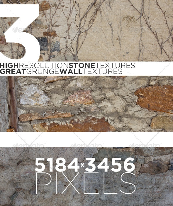 Old Stone Textures - 3 Pack - Stone Textures