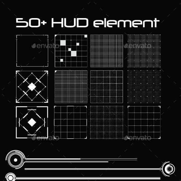50+ Hud Element Pack