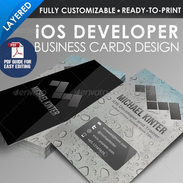 iOS Developer Business Card