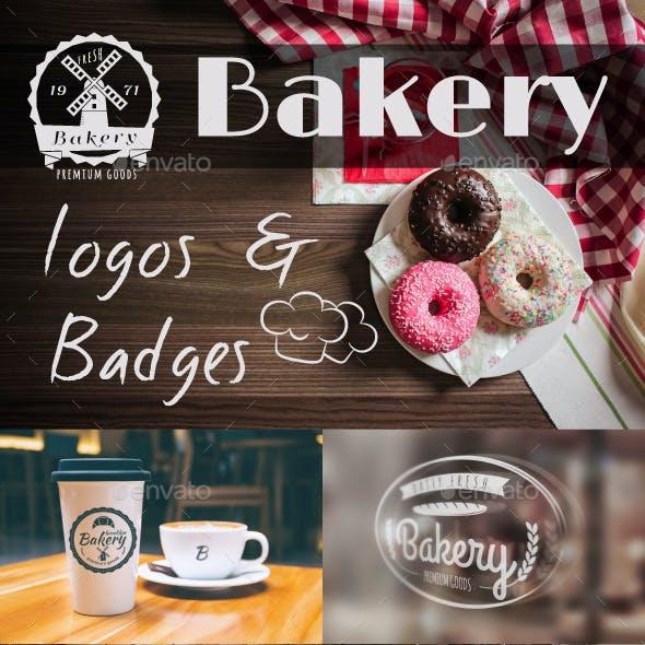 Bakery Logos & Badges