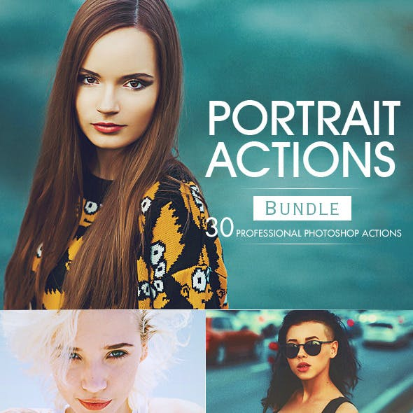 Portrait Actions Bundle