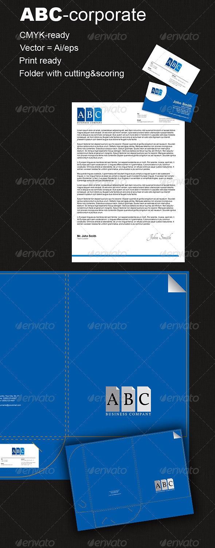 ABC-Corporate - Stationery Print Templates