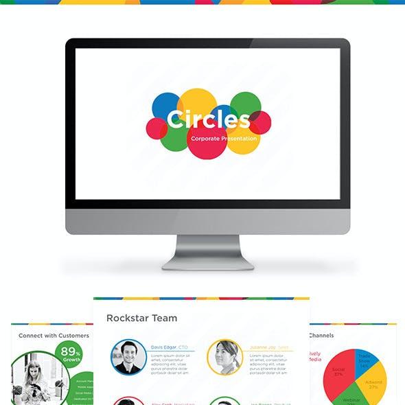 Circles Presentation Theme