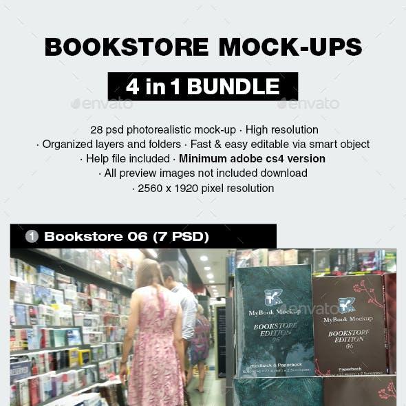Bookstore Mock-up Bundle 02