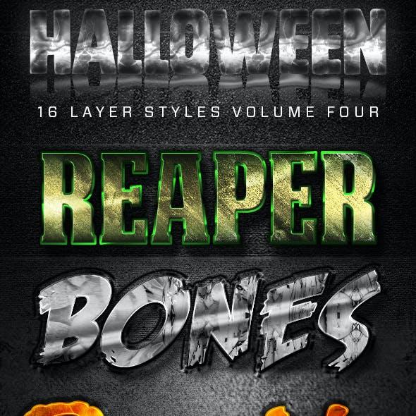 16 Halloween Styles Volume Four
