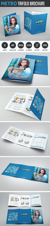 Metro Tri-fold Brochure - Corporate Brochures