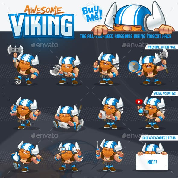 Viking Mascot Pack