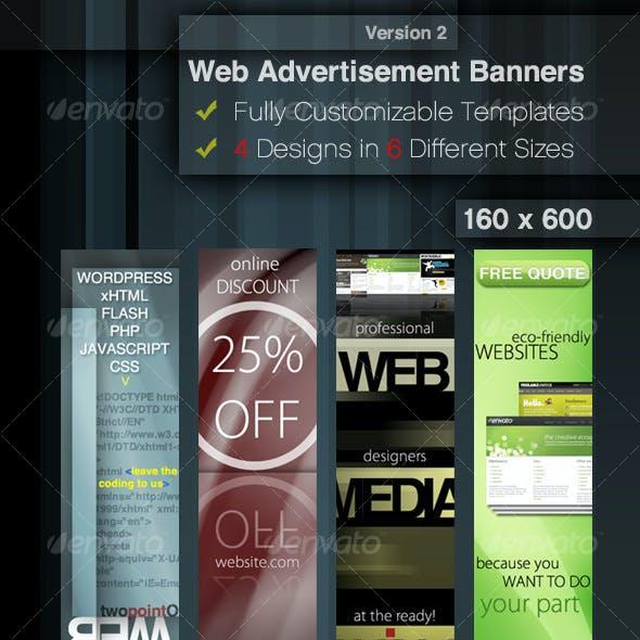Web Advertisement Banner Templates 2