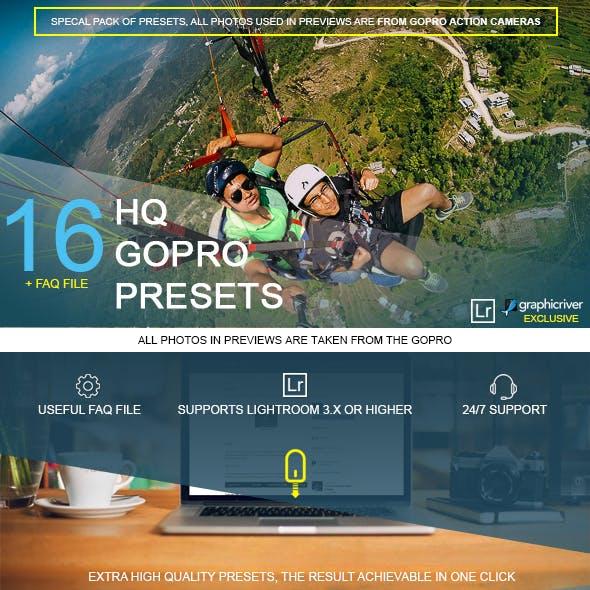 16 HQ GoPro Presets