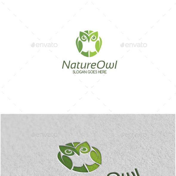 Nature Owl Logo