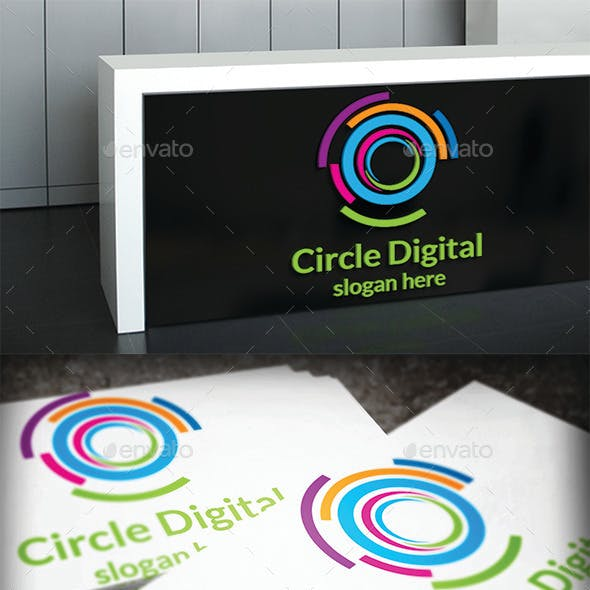 Circle Digital Logo