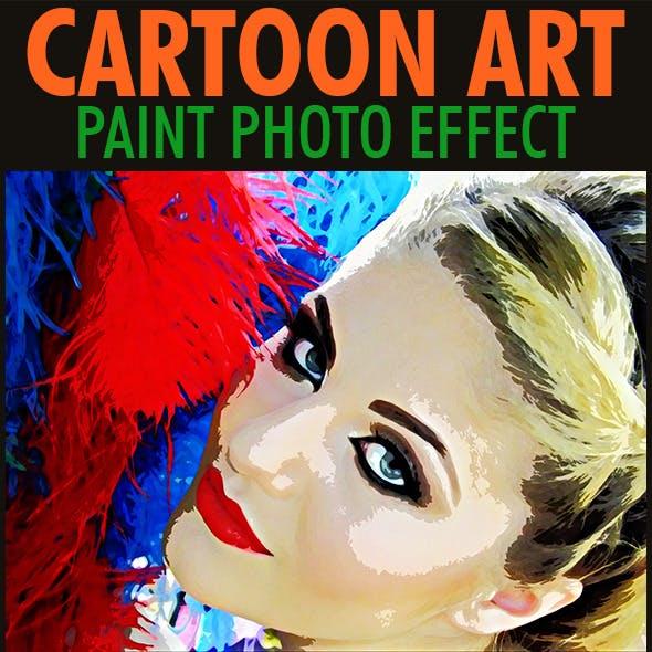 Cartoon Paint Art Effect