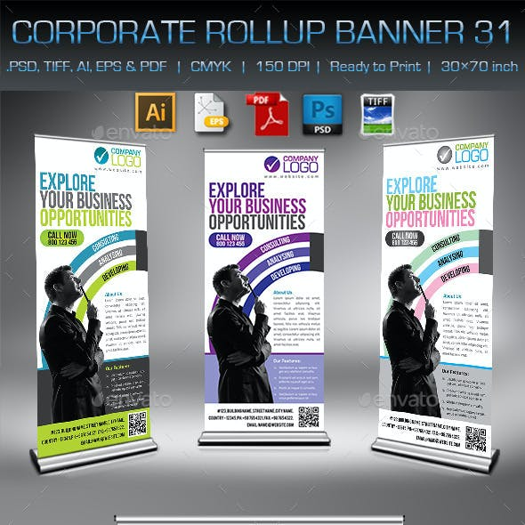 Corporate Business Rollup Banner 31