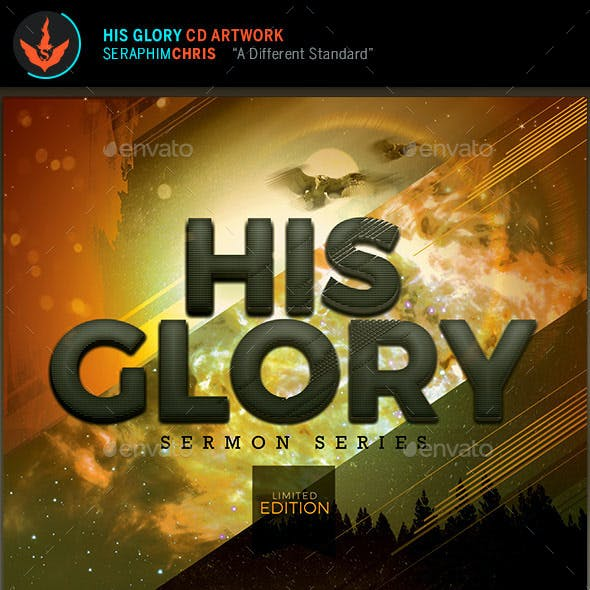 His Glory: CD Artwork Template