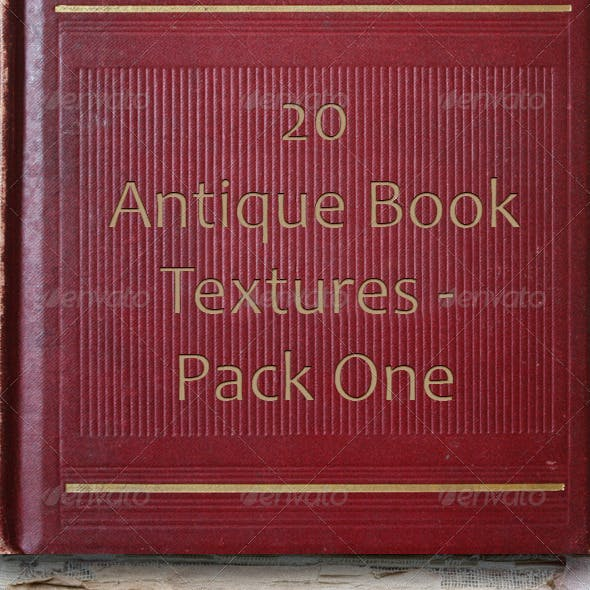 20 Antique Book Textures - Pack One