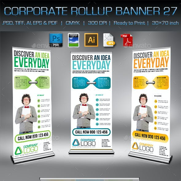Corporate Business Rollup Banner 27