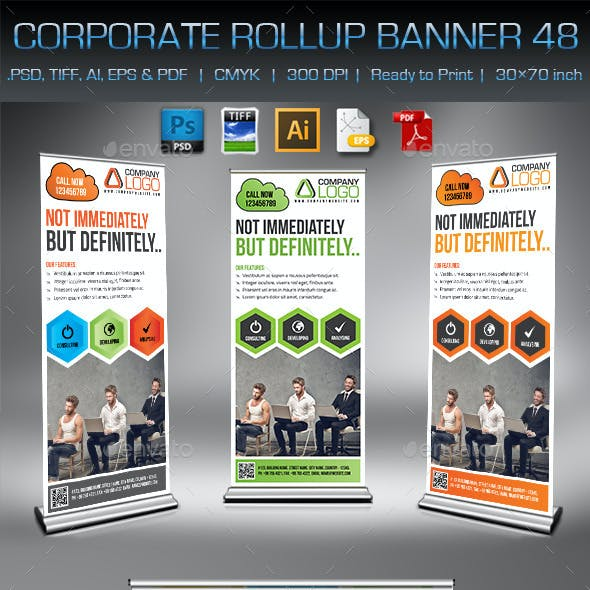 Corporate Business Rollup Banner 48