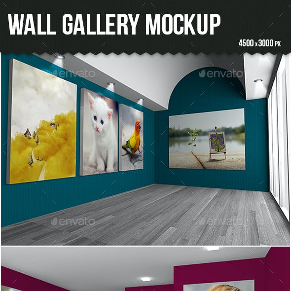 Wall Gallery Mock-up
