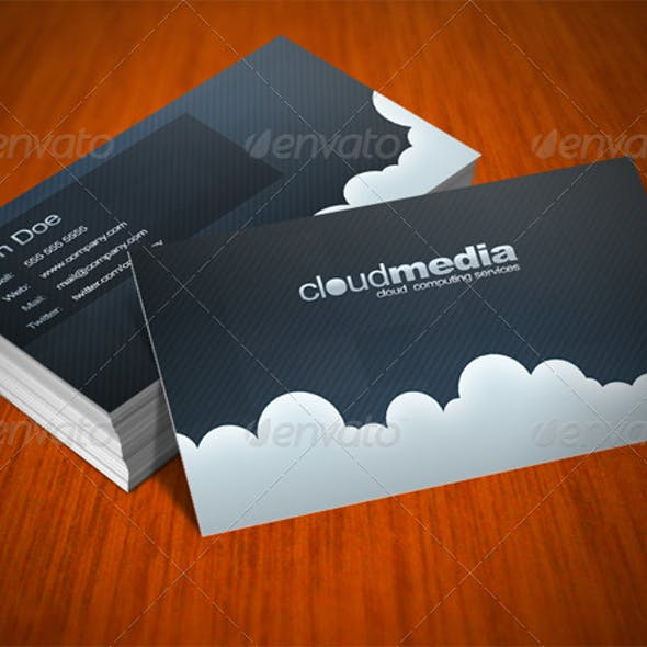 Clouds Card