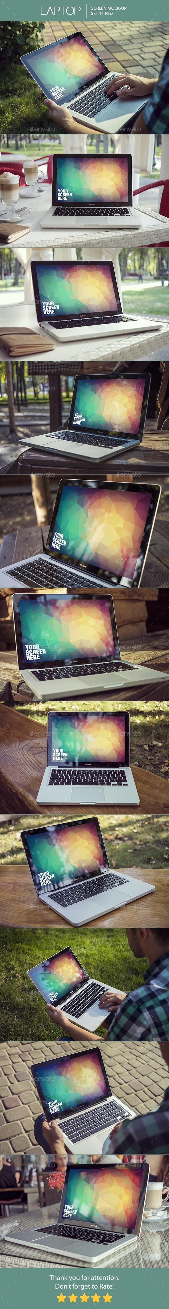 Laptop Screen Mockup - Laptop Displays