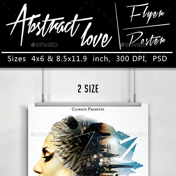 Abstract Love Flyer/Poster
