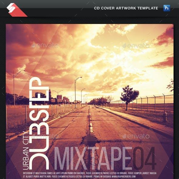 Urban City Dubstep vol.4 - CD Cover Template