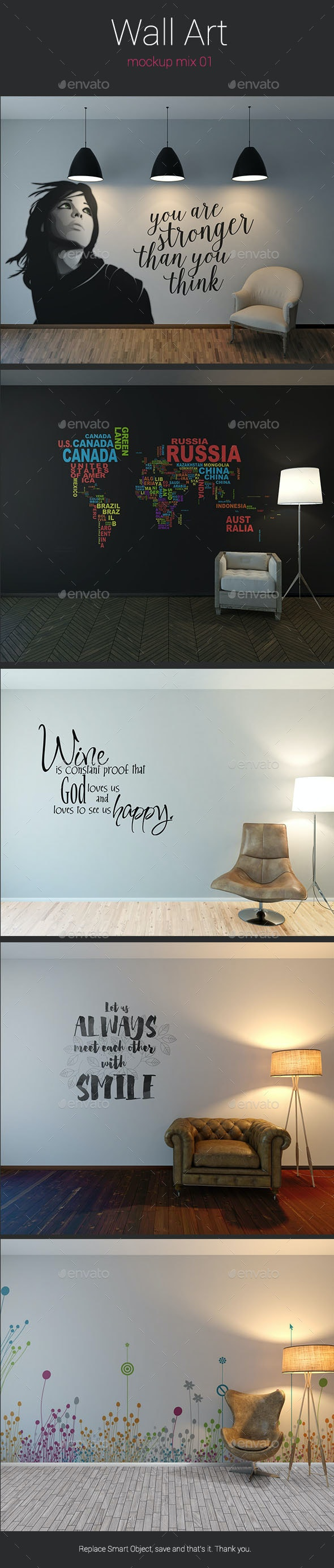 Wall Art Mockup  - Miscellaneous Displays