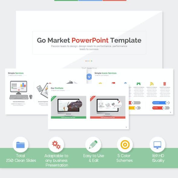 Go Market - Powerpoint Template