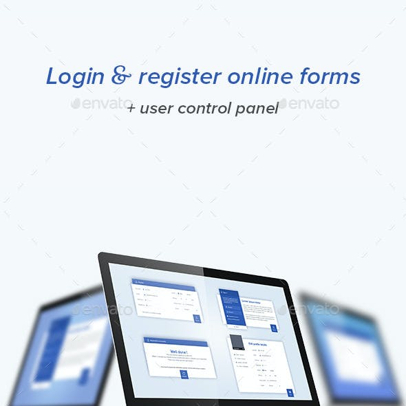 Login & Register Form