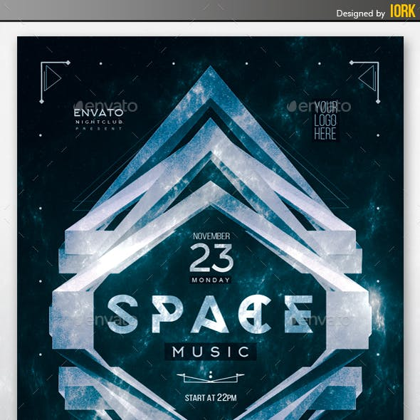 Space Music Flyer