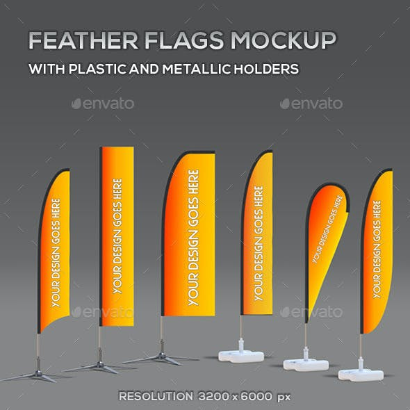 Feather Flags Mock-Up