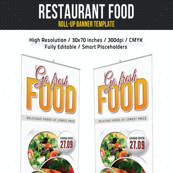 Restaurant Food Banner